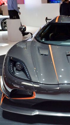 The Koenigsegg Agera unveiled at the 2011 Geneva Motor Show by the Swedish car manufacturer. The car is one of the fastest production cars in the world. Koenigsegg, Fast Sports Cars, Car Car, Car Rims, Sweet Cars, Expensive Cars, All Cars, Amazing Cars, Exotic Cars