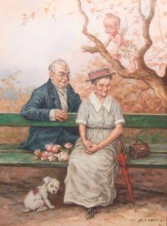 First love (Első szerelem) - artist: Szász Endre László