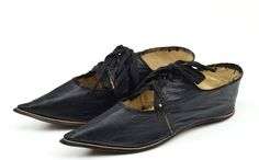 Women's shoes, 1800-1810, German.