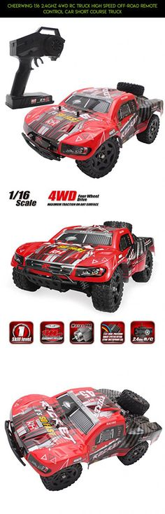 Cheerwing 1:16 2.4Ghz 4WD RC Truck High Speed Off-road Remote Control Car Short Course Truck #cheerwing #gadgets #racing #mini #shopping #tech #technology #plans #kit #drone #products #fpv #parts #camera