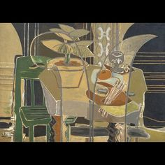 GEORGES BRAQUE Large Interior with Palette, 1942. The Menil Collection, Houston