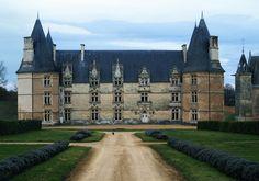 Château de la Roche. Magné 86160. Poitou.