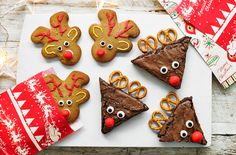 Christmas hacks: How to turn your favourite bakes into reindeer!