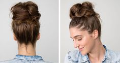 Messy Rose Hair Scrunchies – Ohh My Dealz Messy Bun Updo, Messy Bun Hairstyles, Bun Bun, Hair Updo, Rose Bun, Rose Hair, Professional Updo, Easy Updos For Long Hair, Natural Hair Styles