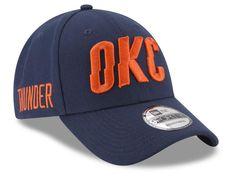 timeless design 65c6c 592c9 Oklahoma City Thunder OKC New Era 9FORTY NBA Adjustable Statement Hat Cap