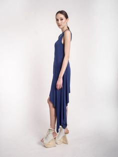 MUSA - asymmetrical jersey dress S/S 2015