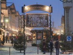 Main Entrance to Christkindlmarkt (Christmas Market) Germany