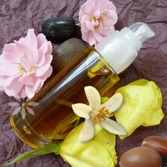 Beauty Elixir with Moroccan Argan Oil, Coenzyme Q10 and Neroli Oil for All Skin Types Antioxidant Face Serum Argan Serum Beauty Vegan Bio by MesysOrganics on Etsy