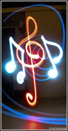Neon Musical Notes http://songwriter1.tumblr.com/post/3772374630