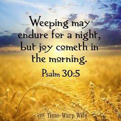 Psalm 30:5