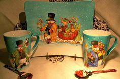 Le porcellane di Morena: Natale - Christmas - Noel hand painted christmas dinnerware - dish ornaments