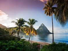 "ST. LUCIA One of the Top 10 Islands in the Caribbean, St. Lucia truly is ""a beautiful island with diverse scenery, from rainforests to beaches,"" as one reader observes."