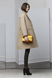 Neil Barrett FW12 camel oversized jacket