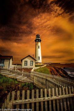 Pigeon Point Lighthouse, California, USA  www.facebook.com/loveswish