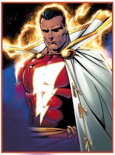 Shazam Comic, Captain Marvel Shazam, Superman, Batman, Dc Comics Girls, New Earth, Cloaks, Dc Heroes, Dc Universe