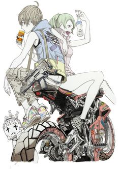 ウルトラジャンプ 更新&ニュース 0185 ウルトラジャンプ9月号発売!Biorg Trinity illustration by Oh!Great