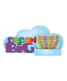 Another great find on #zulily! Blue Resin 'Dream Big' Tabletop Sign & Thoughtful Cards Set #zulilyfinds