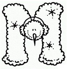 Activipeques: Abecedario del invierno