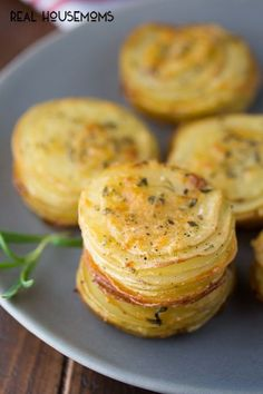 ... Rosemary Potato Stacks are an easy and delicious way to serve potatoes