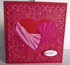 Good Morning Everyone, For next Wonderful Wednesday will be making a Valentines Card using Iris Folding. What is Iris folding you ask, wel. Iris Folding, Good Morning Everyone, Cardmaking, Embellishments, January, Presents, Crafting, Scrapbooking, Valentines