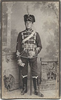 German; 5th(Pommeranian) Hussar Regt 'Fürst Blücher von Wahlstatt' . Home Depot Stolp. XVII Corps