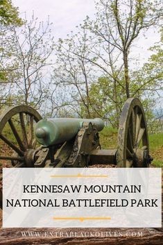 Civil War history buffs and hikers will love exploring Kennesaw Mountain National Battlefield Park just north of Atlanta. Federal Parks, Kennesaw Mountain, Hiking Tips, Park Service, The Visitors, Olives, Travel Usa, State Parks, American History