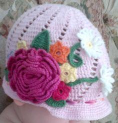 chapeu rosa