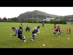 UAR 7 Ruck 1 vs 1 - YouTube Rugby Drills, 1 Vs 1, Rugby Coaching, Rugby Training, Abs, Youtube, Sports, Conservation, Videos