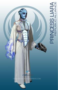 I guess I can't stop mashing up Mass Effect with my favorite fandoms like a mad scientist and there is no bigger fandom for me than Star Wars. I like to try matching characters that would bes...