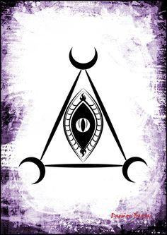 Lilith Qlipha (Sigil): The Woman of the Night by Daemon-Barzai Wiccan Symbols, Spiritual Symbols, Egyptian Symbols, Ancient Symbols, Lilith Symbol, Lilith Sigil, Lillith Goddess, Cs6 Photoshop, Traditional Witchcraft