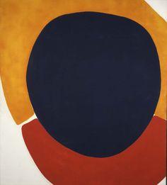cadmium orange of dr. frankenstein by jules olitski, 1962