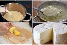 Învață să prepari o brânză de casă gustoasă și sănătoasă dintr-un litru de lapte, iaurt și o bucată de lămâie! - Secretele.com
