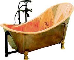 Copper soaking tub - again, dreaming