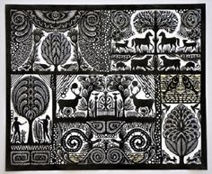 Amazing paper cutting by Ueli Hofer.
