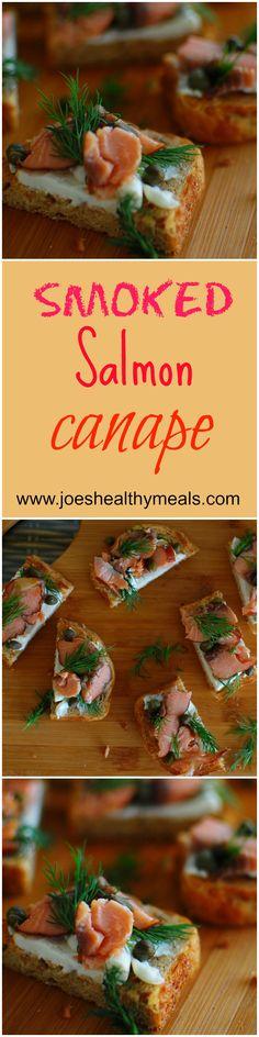 Smoked salmon appetizers http://www.joeshealthymeals.com/2014/11/13/maple-glazed-carrots/