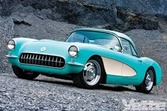 1956 Chevy Corvette.