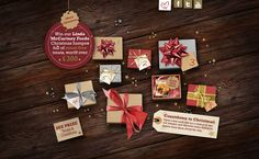 Christmas countdown campaign by Steven Fewings, via Behance