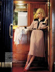 Big-Haired '70s Shoots: The Magdalena Frackowia Vogue Russia Editorial is Glamorously Retro