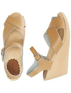 154b6d54204 Swedish Wedge Sandal Clog By Hanna from  HannaAndersson. Wooden Sandals