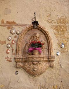 Roadside Shrine In Verona Italy
