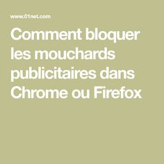 Comment bloquer les mouchards publicitaires dans Chrome ou Firefox Android Technology, Technology Updates, Technology World, Wifi, Android Library, Firefox, Android Hacks, Blog Sites, Computer Science