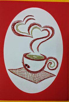 Stitching card Fadengrafik Izonit Pickpoint Haft matematyczny RAZNO - Maja Bodi…