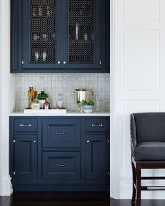 If we need color in the kitchen somewhere, I love this one.