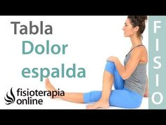 Tabla de espalda y rutina de ejercicios para una espalda sana - YouTube