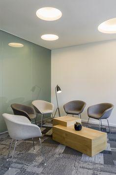Notary's Office Michelfelt & Moes - design by Dreimeta. ::: reception, entrance, waiting room, gray, green