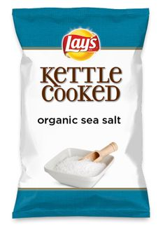 Wouldn't organic sea salt be yummy as a chip? Lay's Do Us A Flavor is back, and the search is on for the yummiest chip idea. Create one using your favorite flavors from around the country and you could win $1 million! https://www.dousaflavor.com See Rules.