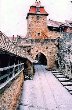 Rothenburg, arguably the most beautiful small town in Germany.Walled-In and Magnificent!in the Franconian Region of Bavaria, Germany Medieval Village, Medieval Castle, Medieval 3, Great Places, Places To See, Beautiful Places, Rothenburg Germany, Europe Centrale, Rothenburg Ob Der Tauber