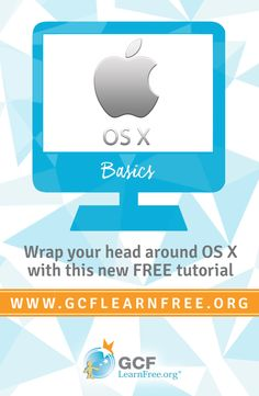 Whether you're new to OS X or just want to brush up on the basics, this tutorial from GCFLearnFree.org will cover the most important things you'll need to know. We'll show you how to create folders, work with files, adjust settings, and much more.