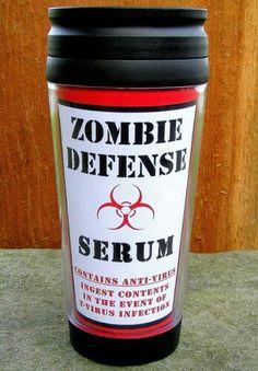 Zombie Defense Serum