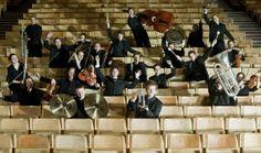 Orchestra photo shoot